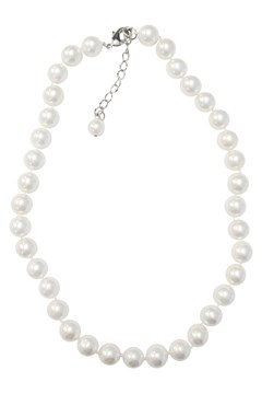Knot Necklace - white