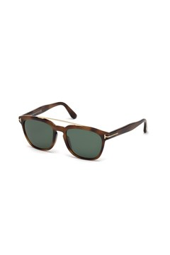 Holt Sunglasses - blonde/havana green