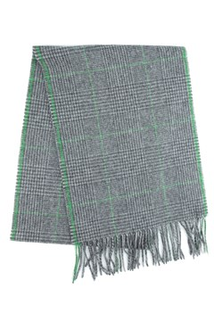 Wool Prince Of Wales Check Scarf 950 GREY 1