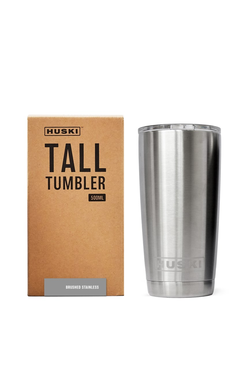 Tall Tumbler - Brushed Stainless