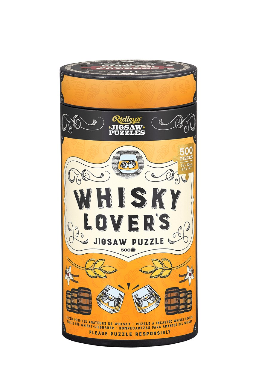 Jigsaw Puzzle 500 Pcs Whisky Lovers