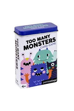 Too Many Monsters Card Game 1