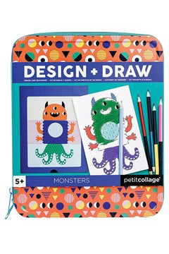 Monsters Design & Draw Set -