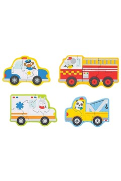 Rescue Vehicles Beginner Puzzle -