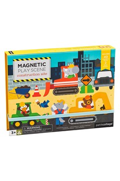 Construction Magnetic Play Scene 1