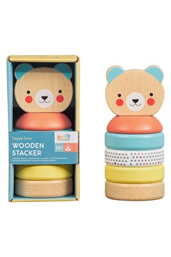 Wooden Bear Stacker 1
