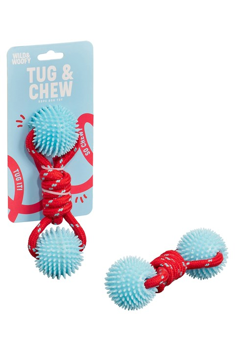 Dog Tug & Chew Toy -