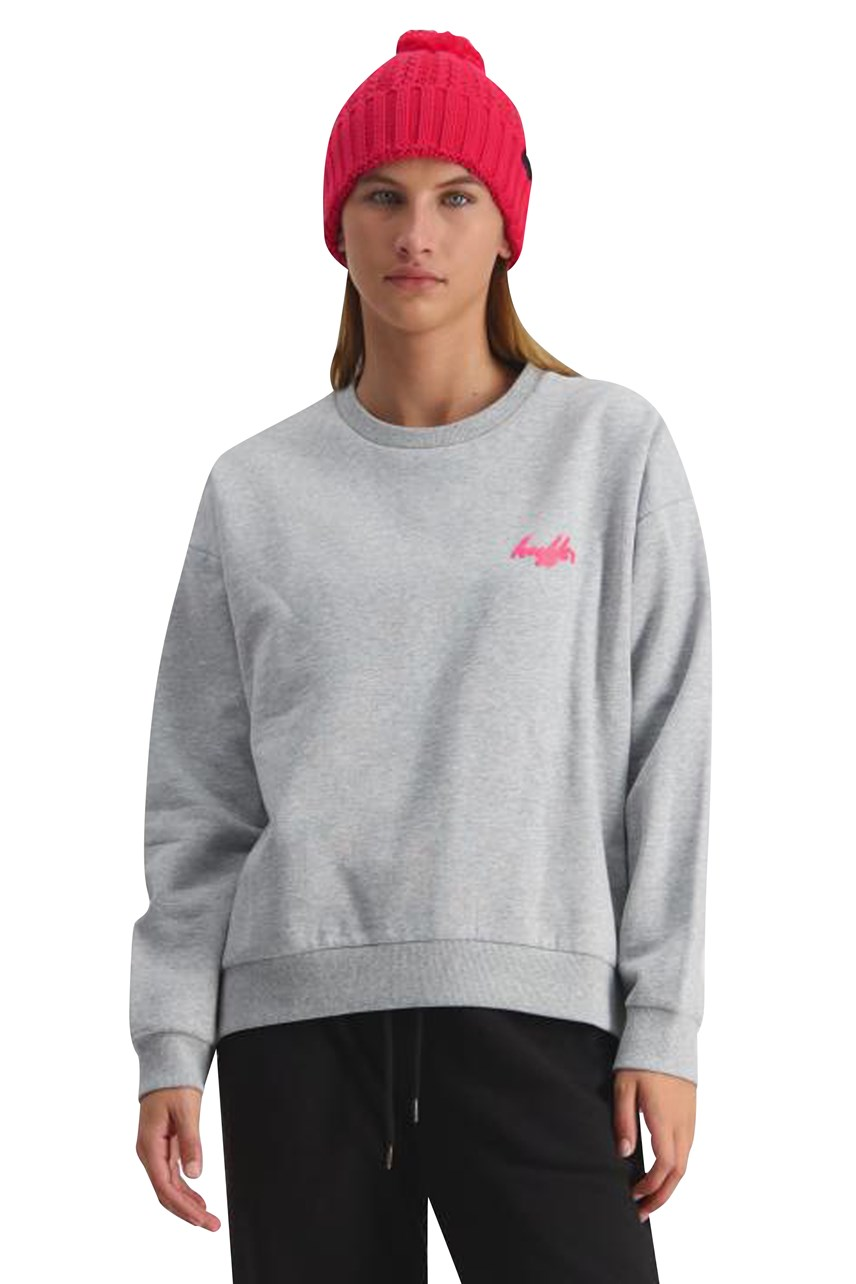 Lila Slouch Crew
