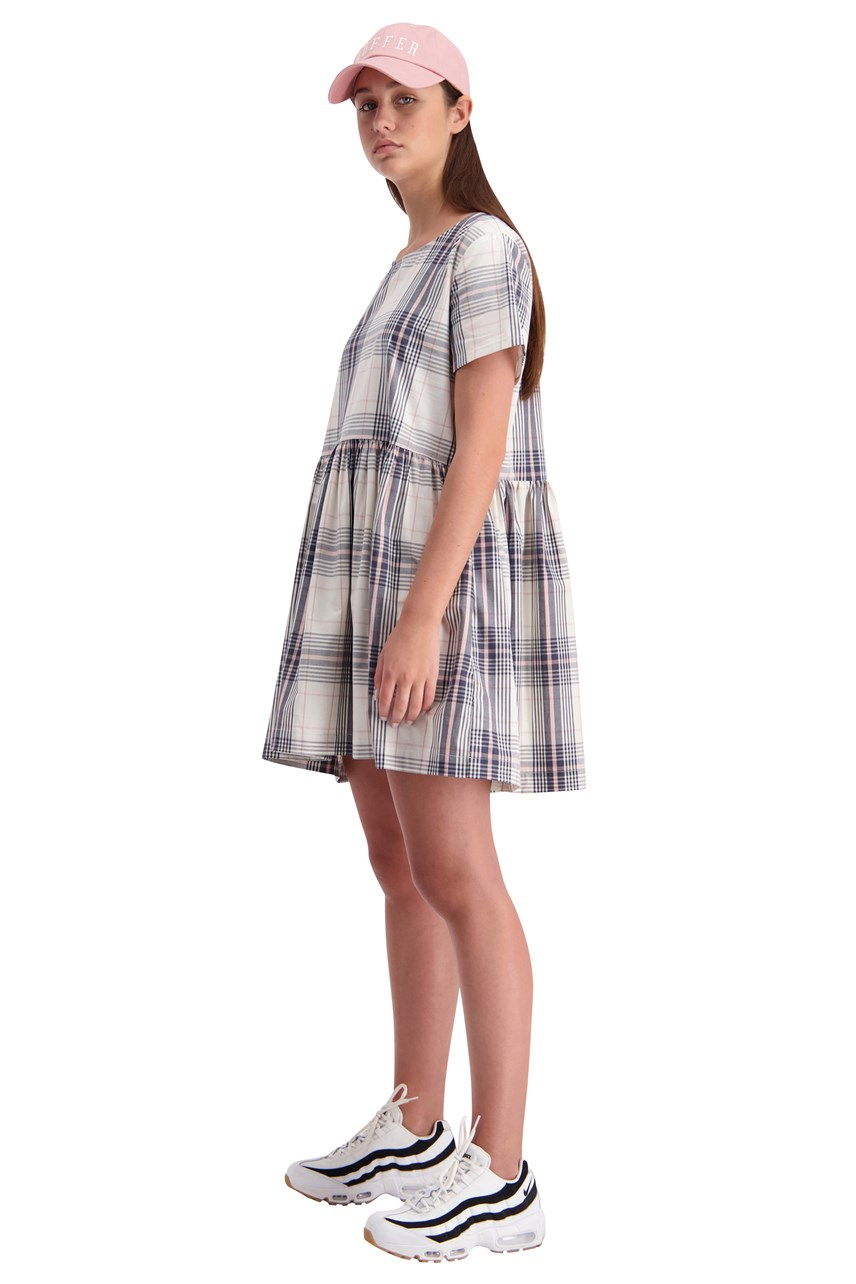 Checked Park Dress