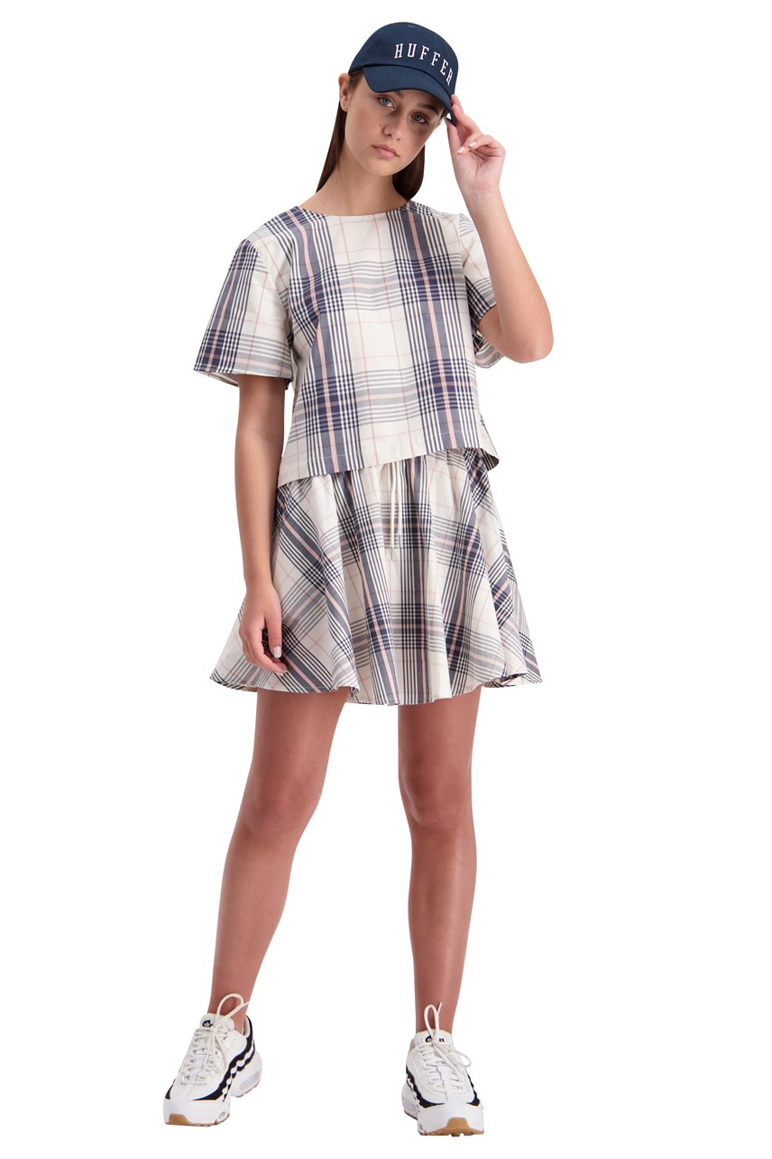 Checked Georgia Top