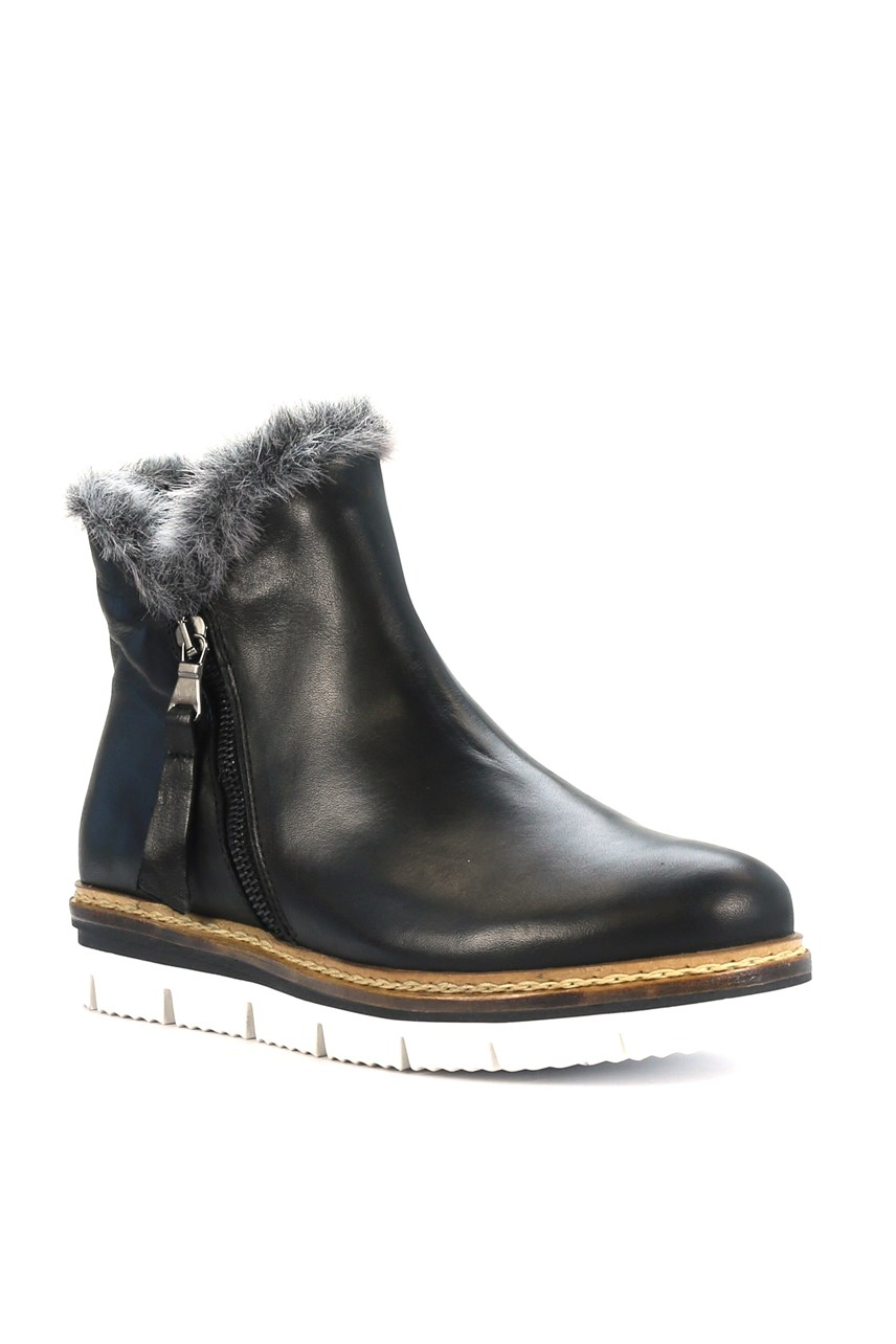 Derk Leather Boot