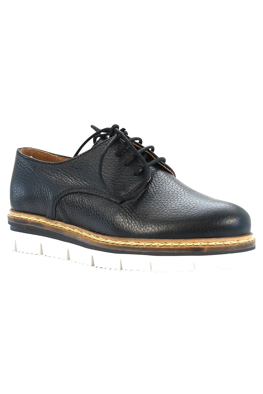 Derry Lace Up Leather Shoe