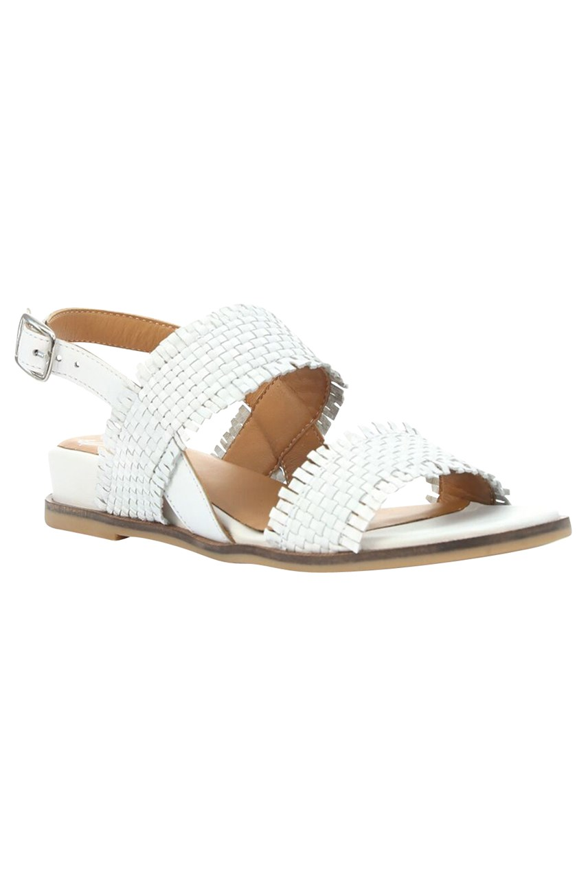 Failed Woven Leather Sandal