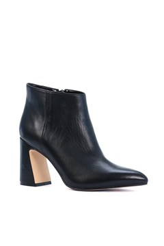 Show Leather Ankle Boot BLACK 1
