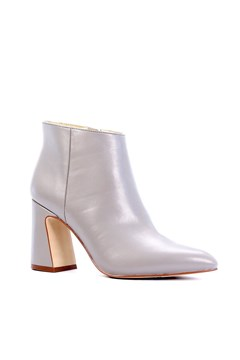 Show Leather Ankle Boot TAUPE 1
