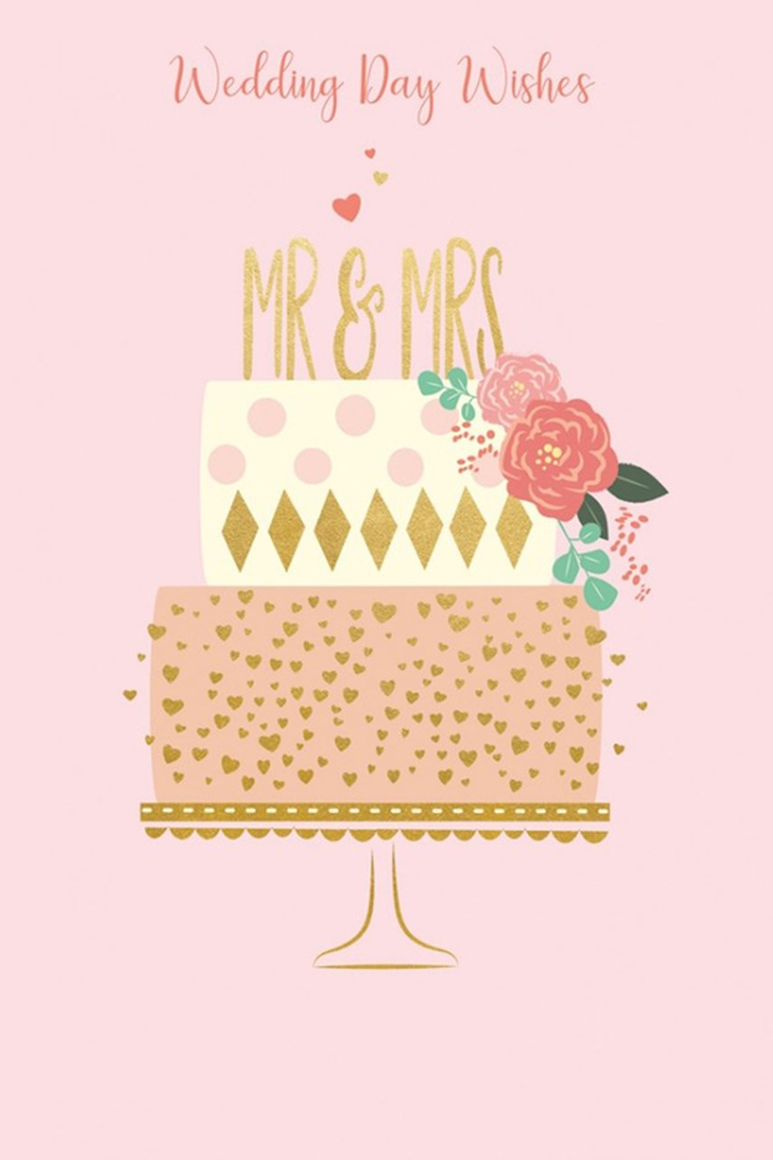 Life & Soul Wedding Cake Card