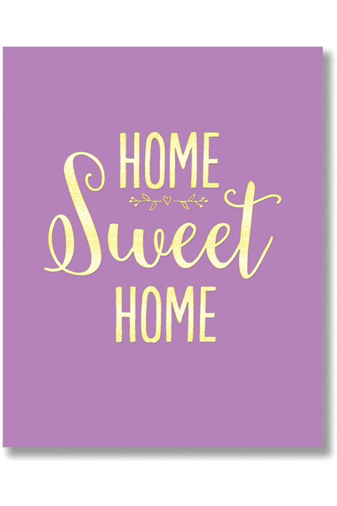 Home Sweet Home Card -