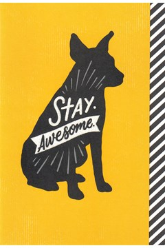 Stay Awesome Card 1