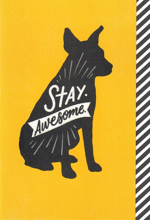 Stay Awesome Card -