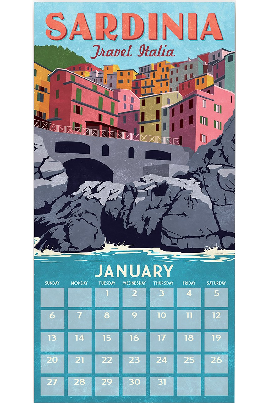World Travel Calendar 2019