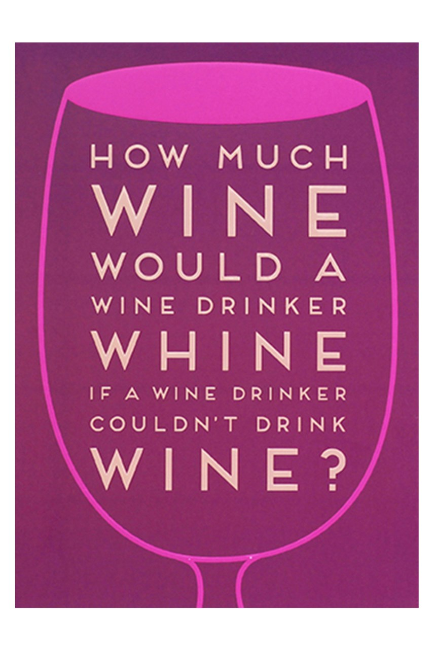 La La Land Wine Card