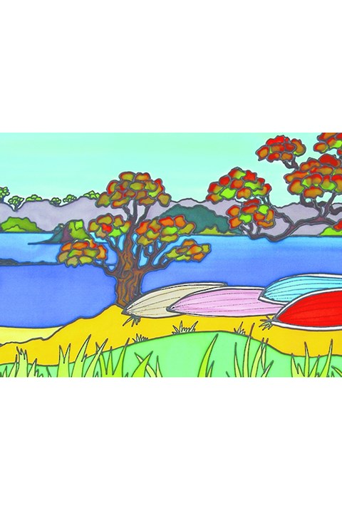 Jo May Dinghies Card -
