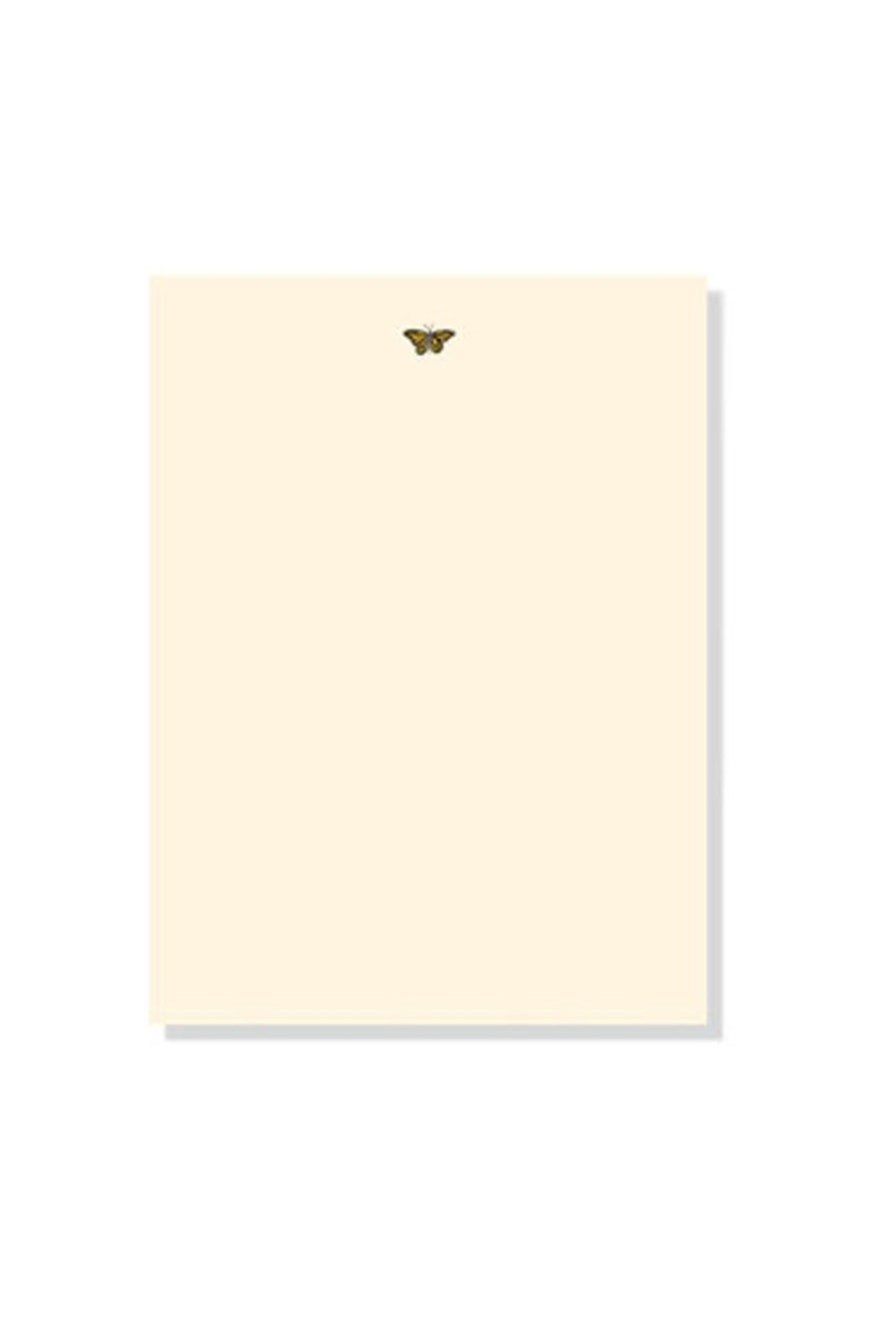 Writing Paper Set - Gold Butterfly