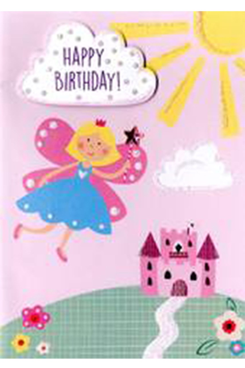 Yours Truly Girl Fairy Card