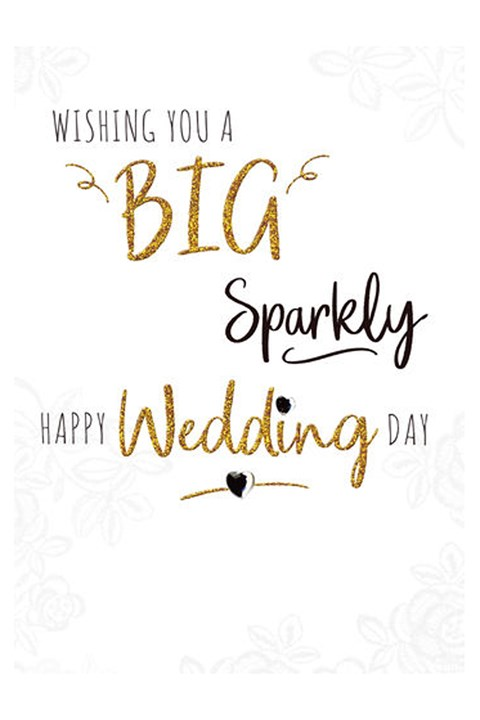 Happy Wedding Day Card -