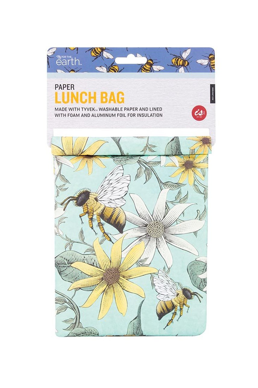 Paper Lunch Bag - Bees