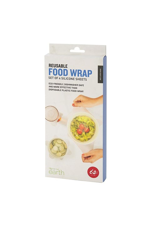 Reusable Food Wrap Set of 4 -