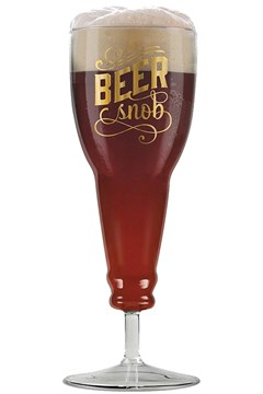 Beer Snob Glass 1