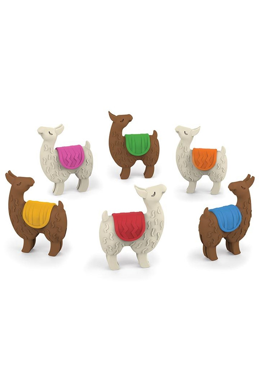 Llama Drink Markers Set of 6