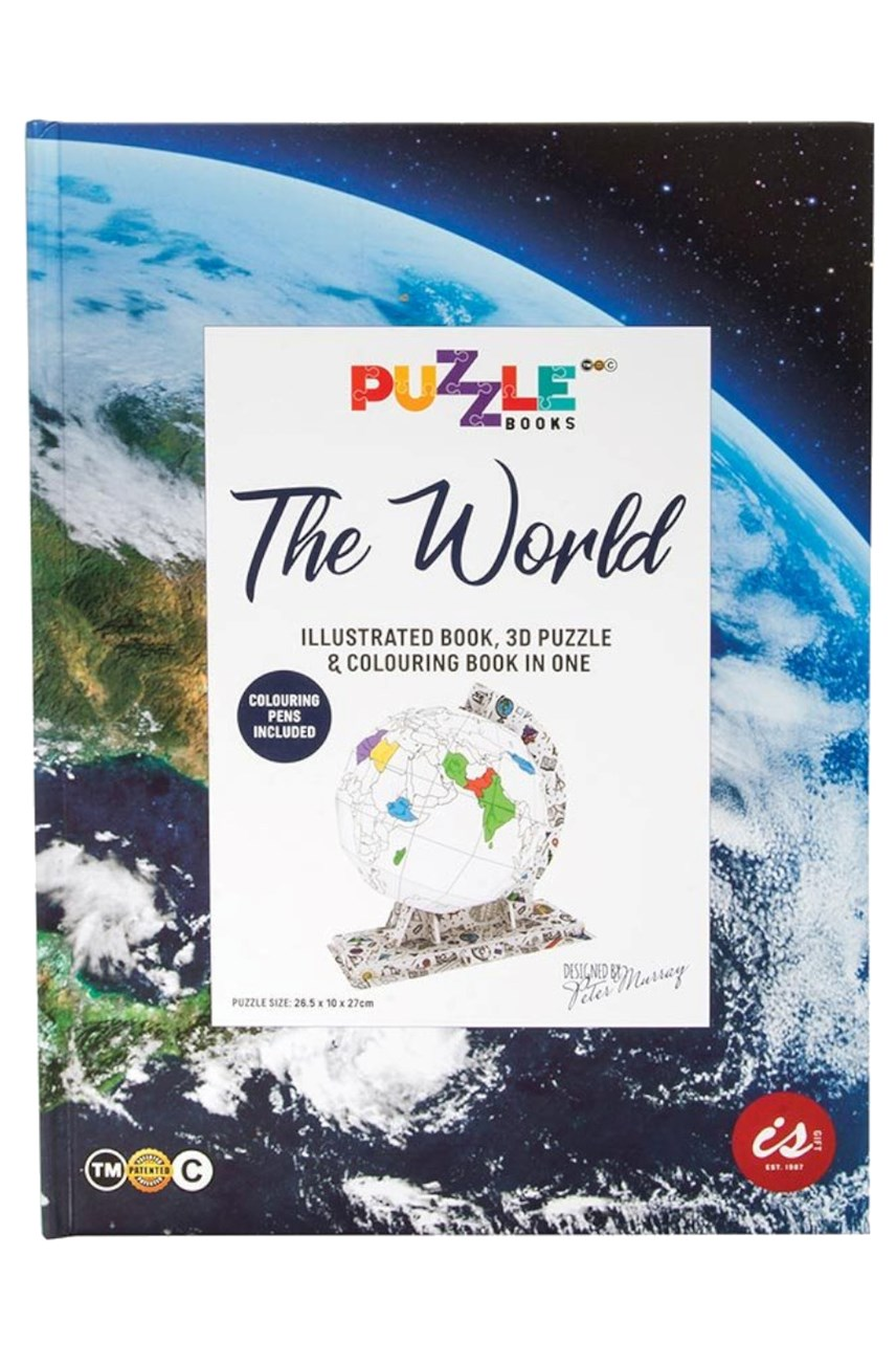 Puzzle Books - The World