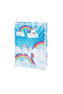 Reversible Unicorn Sequin Notebook -