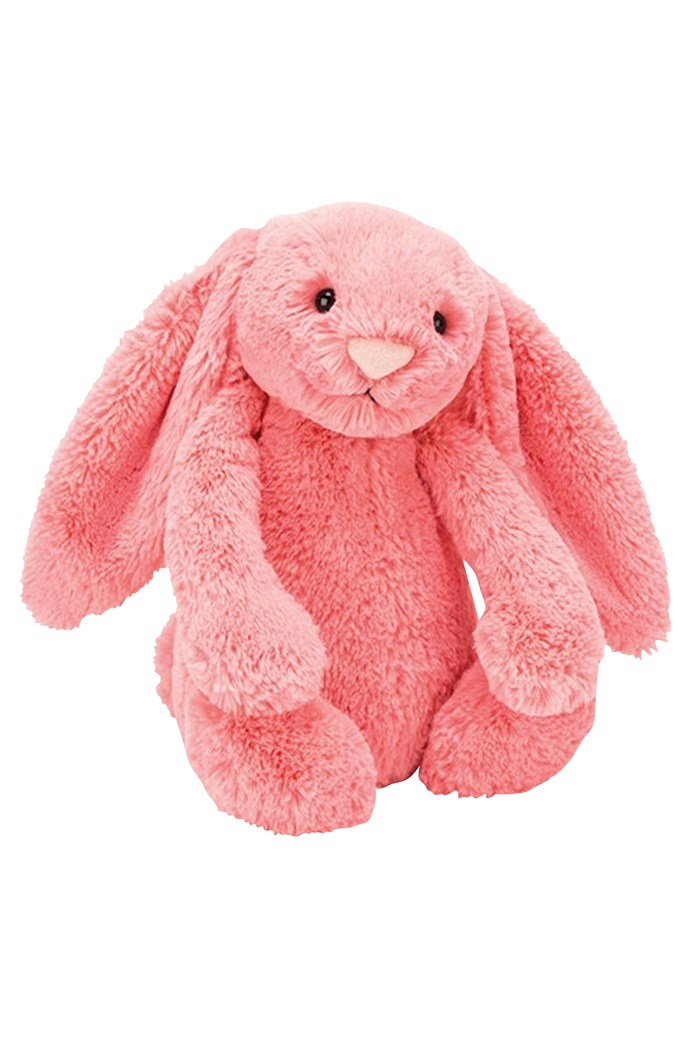 Bashful Coral Bunny - Small