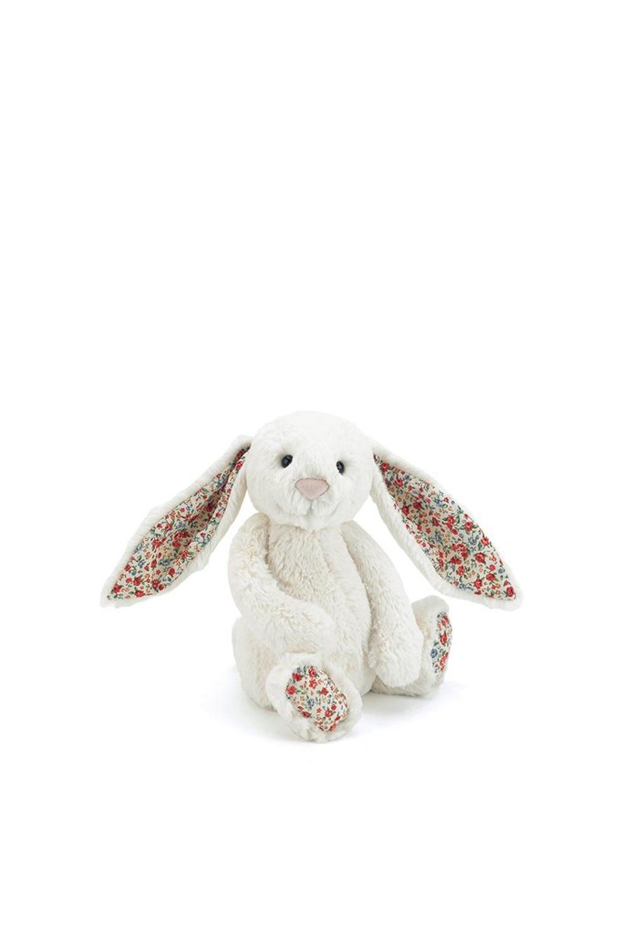 Blossom Bashful Cream Bunny - Medium