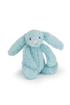 Bashful Aqua Bunny - Medium Aqua 1