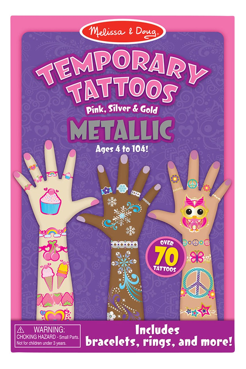 Temporary Tattoos Metallic
