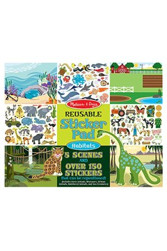 Habitats Reusable Sticker Pad 1