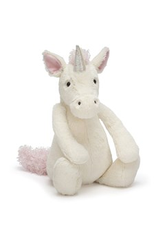 Medium White/Pink Bashful Unicorn White/Pink 1