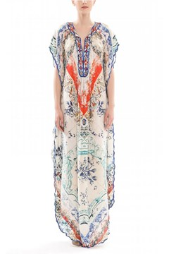 2a96191fbd9 Fresco Silk Kaftan.  649.00 from  324.50 to  649.00. Clarion Long Dress ...