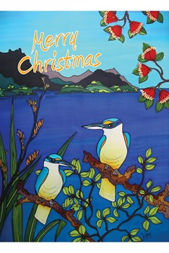 Kingfisher Christmas Card 1