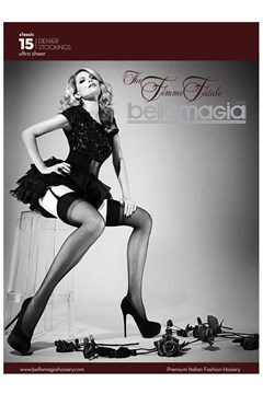 'The Femme Fatale' Stockings Black 1