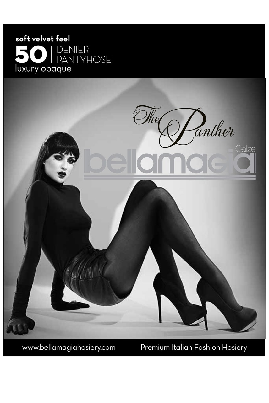 'The Panther' 50 Denier Pantyhose