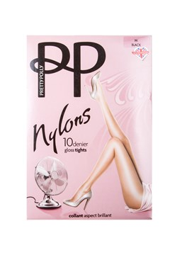 Gloss 10 Denier Nylon Tights - black