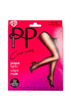 Curves Pinspot Tights BLACK 1