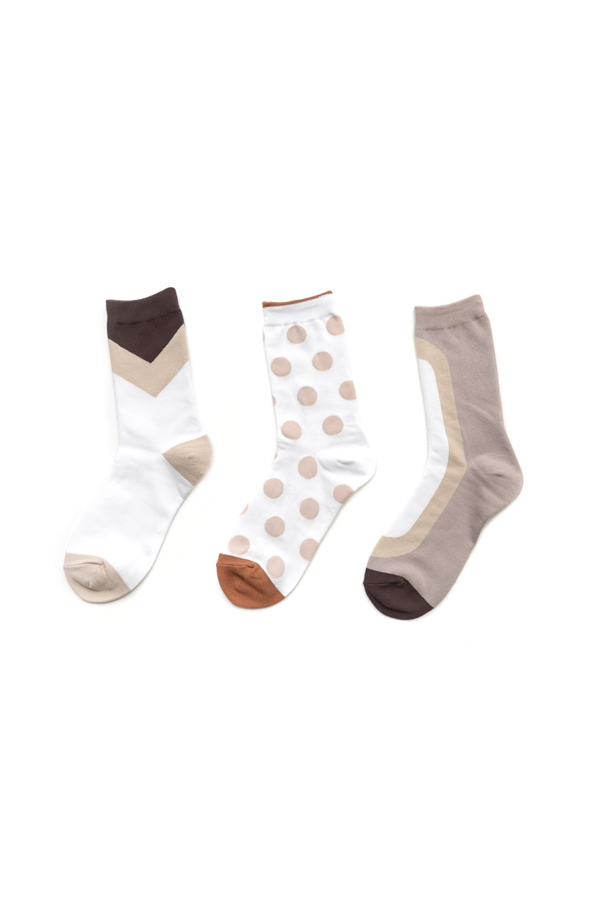Flatwhite Socks - Rose Gold Packet