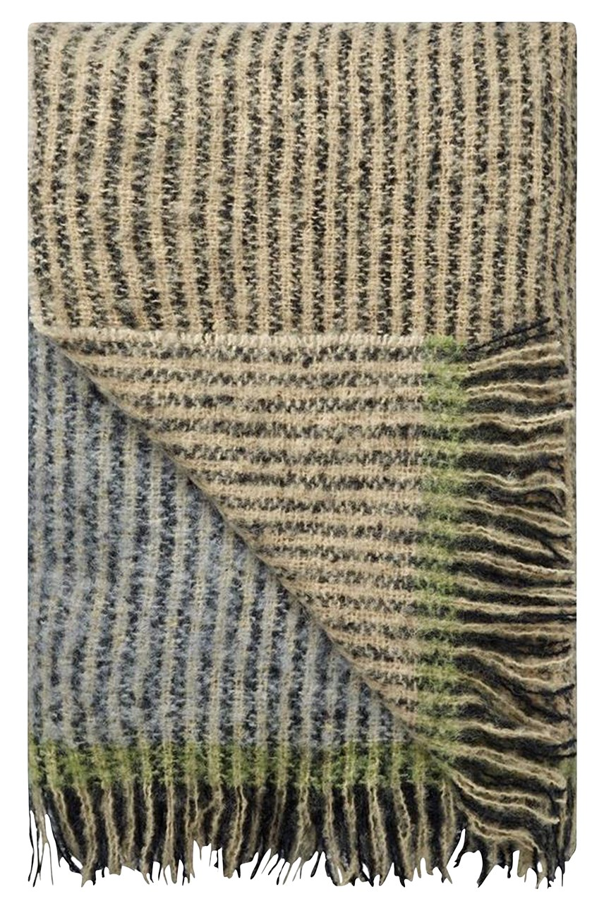 Designers Guild Katan Throw - Espresso