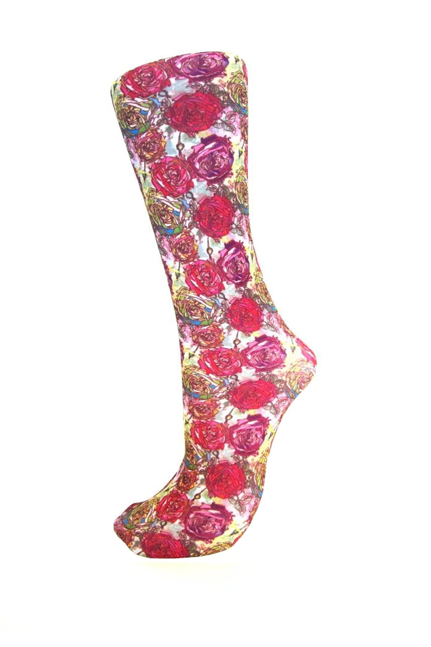 Roses Sock - Pack of 3